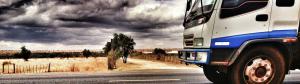 nákladní auto autoškola